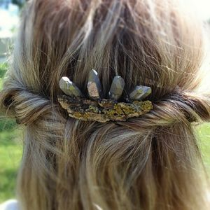 Nature Inspired Hair Comb